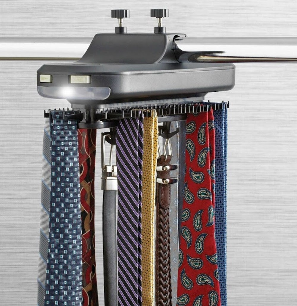 How to Choose and Organize Ties & Belt Rack