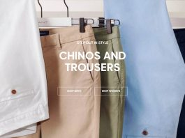 Step Out In Style In NEW Chinos and Trousers at GANT
