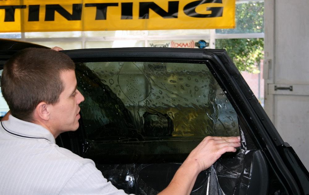window tint car