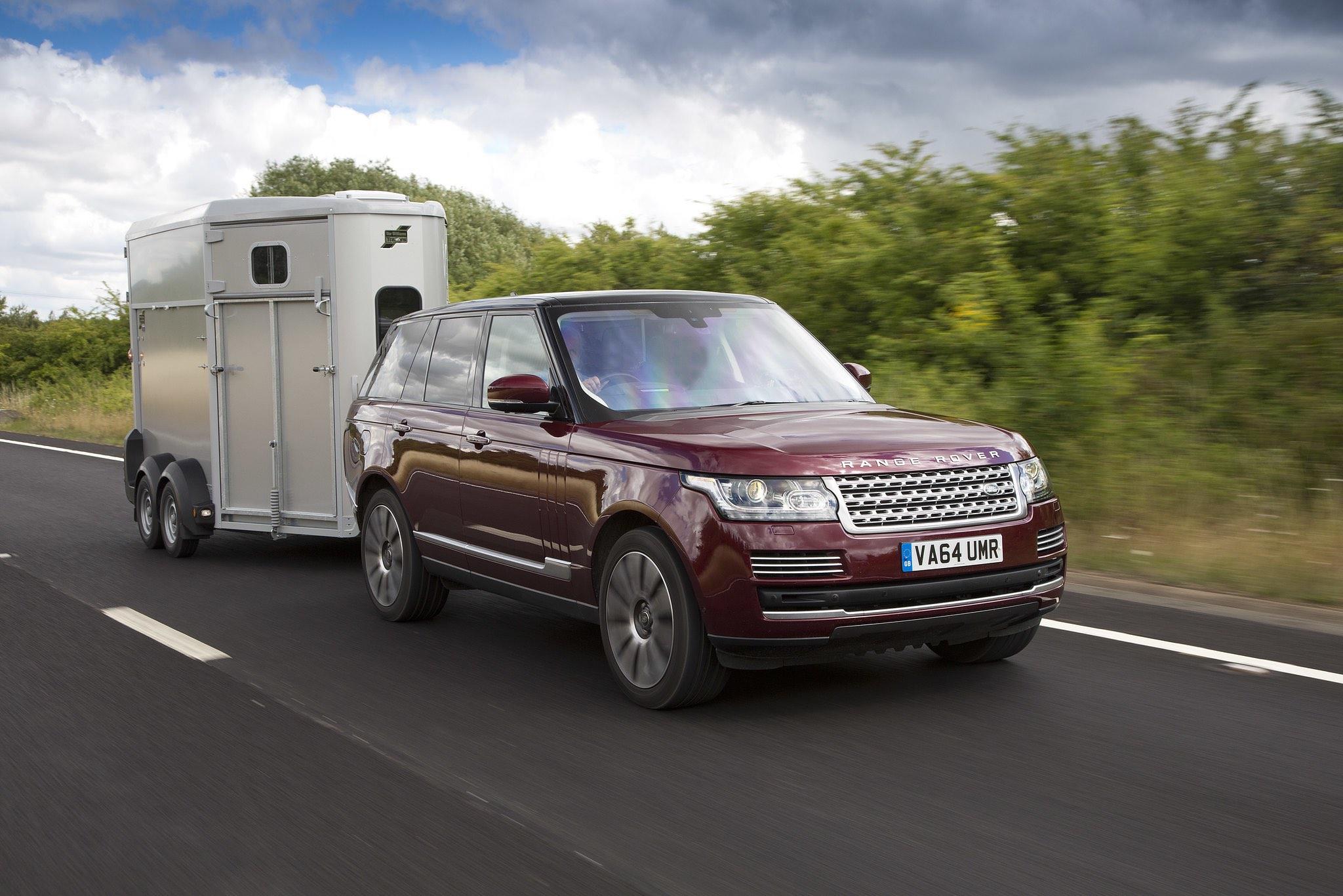 Utility Trailer Range Rover