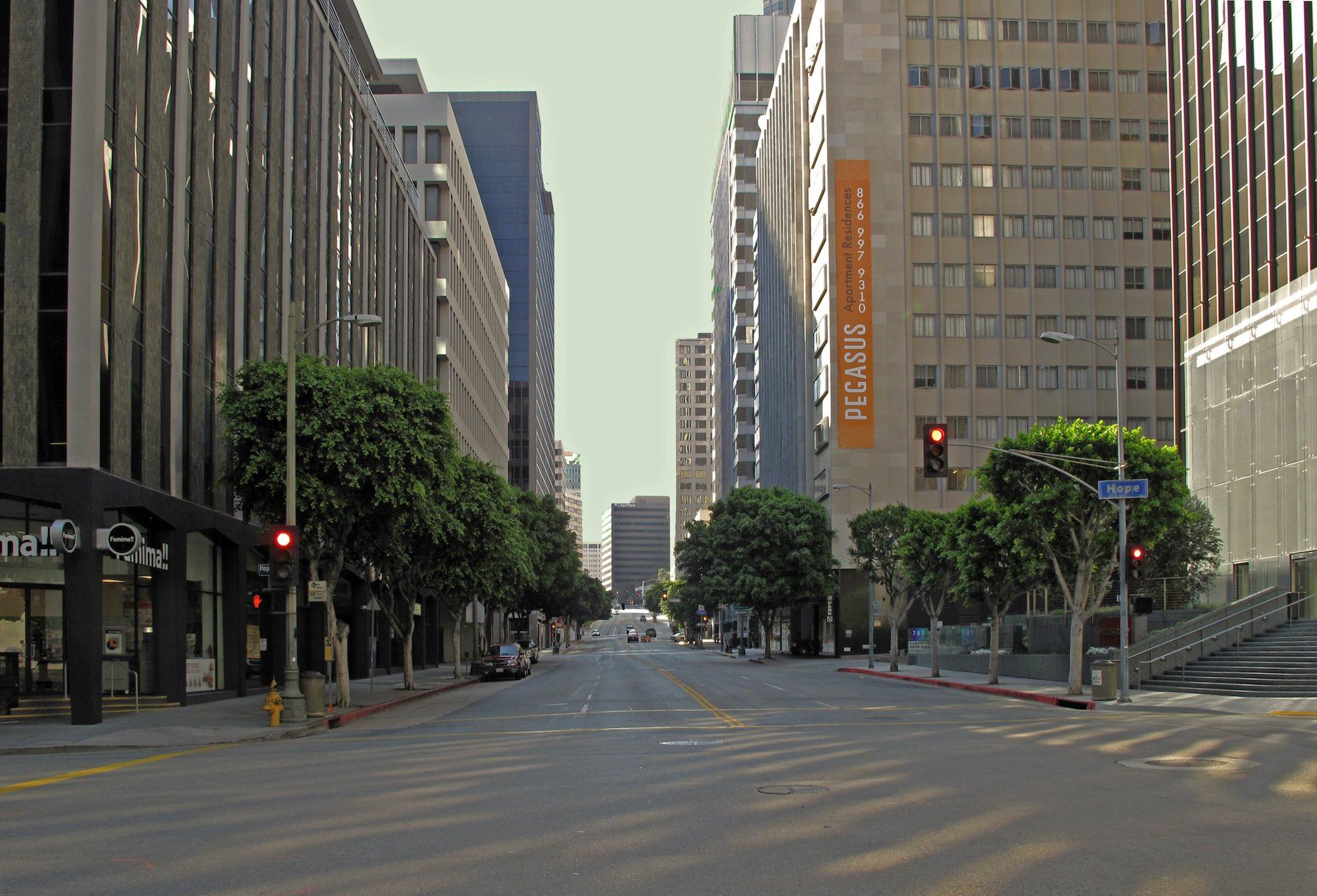 coronavirus lockdown empty streets