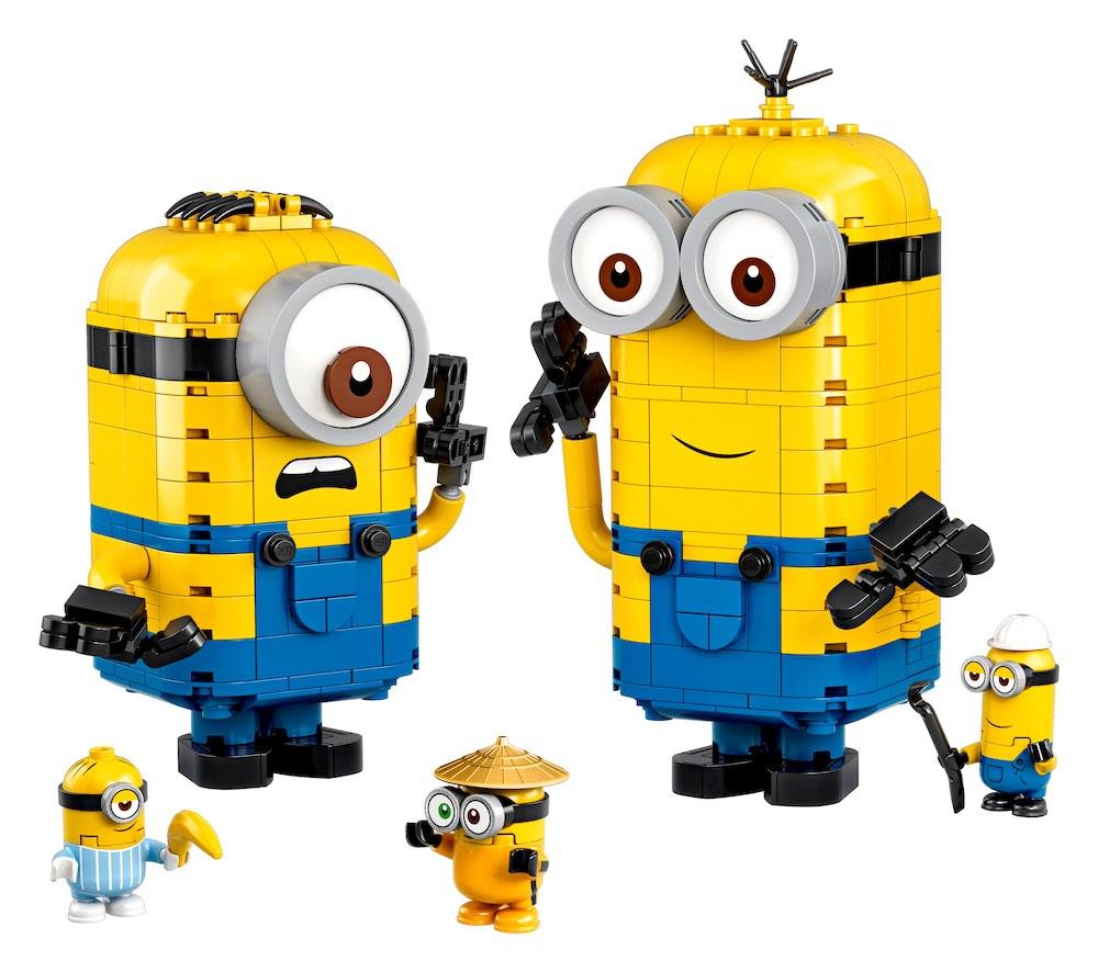 Brick-Built Minions