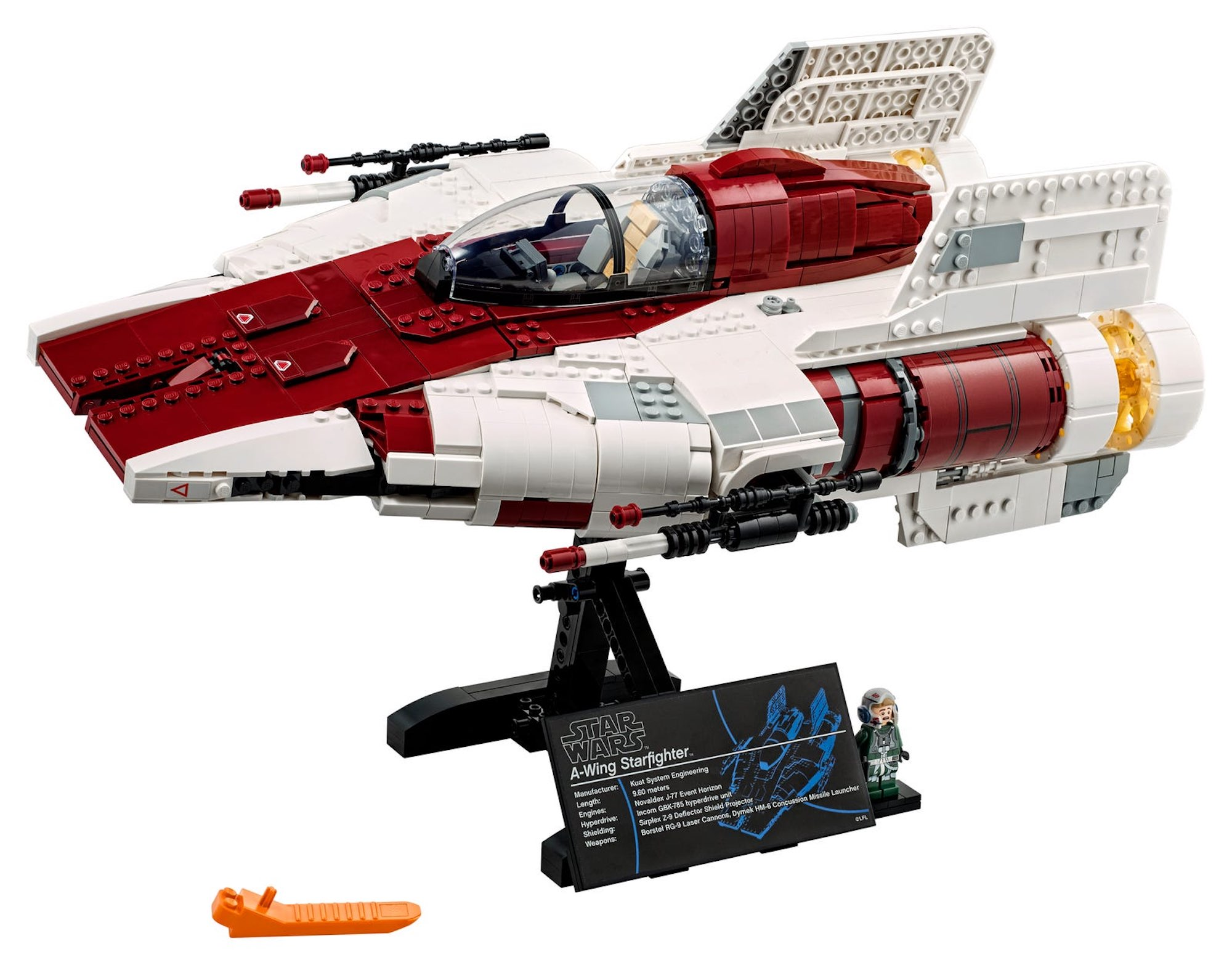 LEGO® Star Wars A-Wing Starfighter