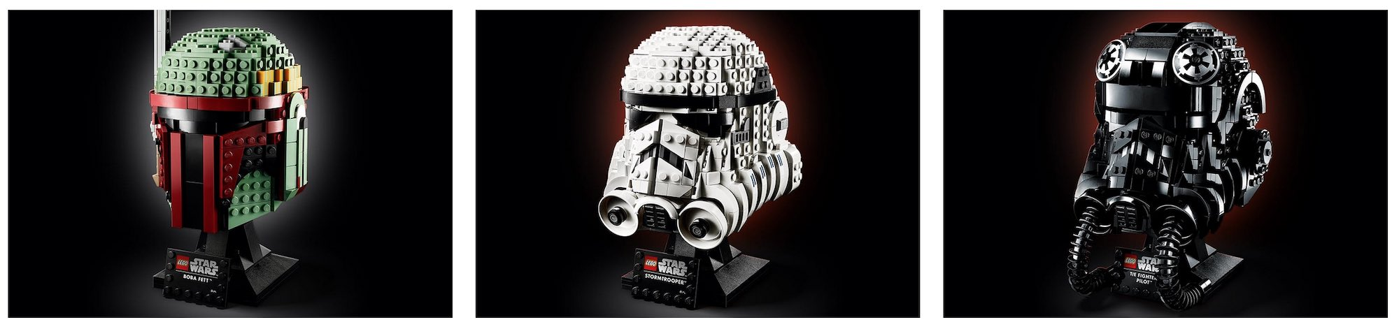 New LEGO® Star Wars™ helmet series