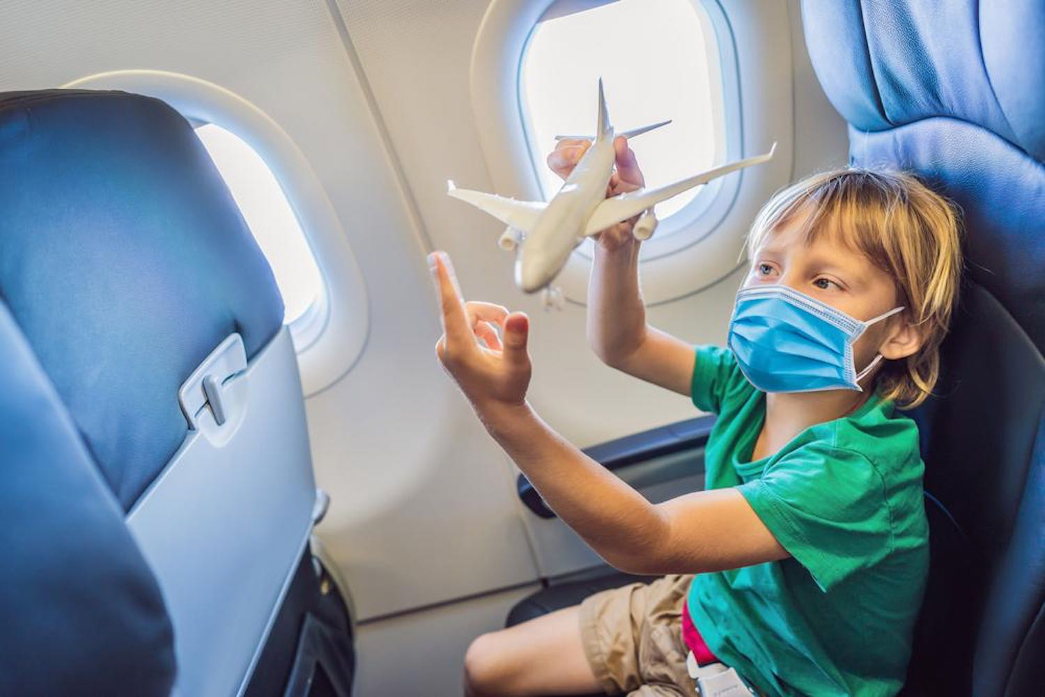 Child for Their First Air Travel