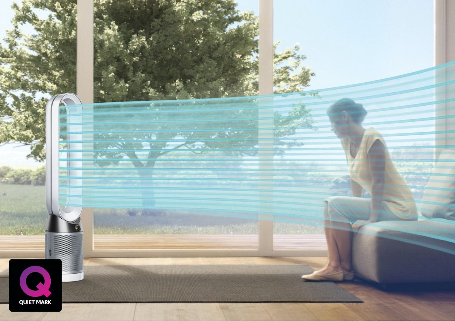 Dyson TP02 Pure Cool Link Air Purifier Fan