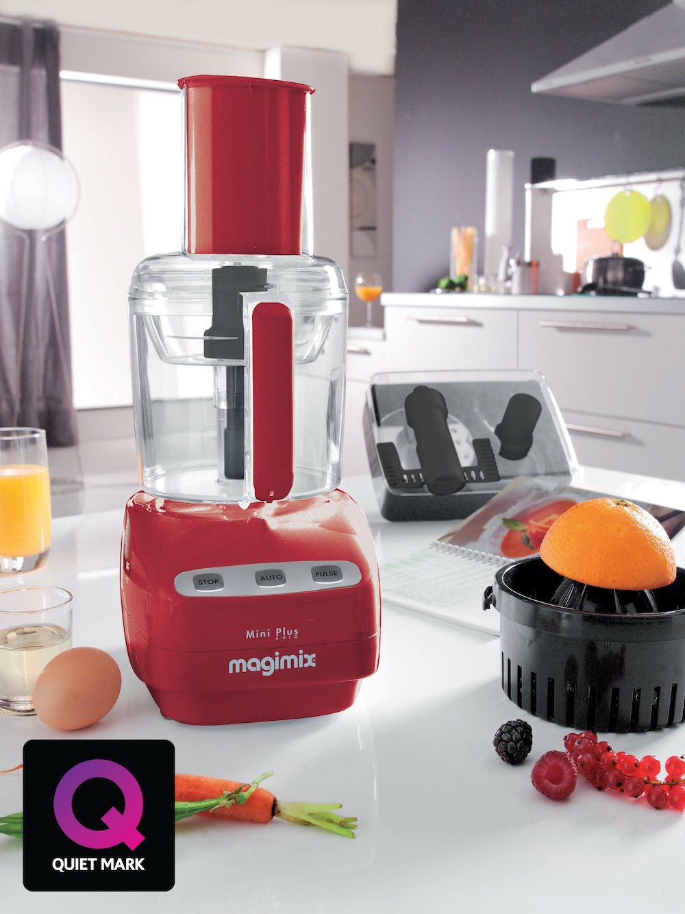 Quiet Mark Magimix Le Mini Plus Food Processor