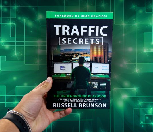 Traffic Secrets book cover