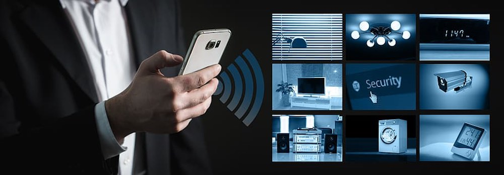 smart home system man