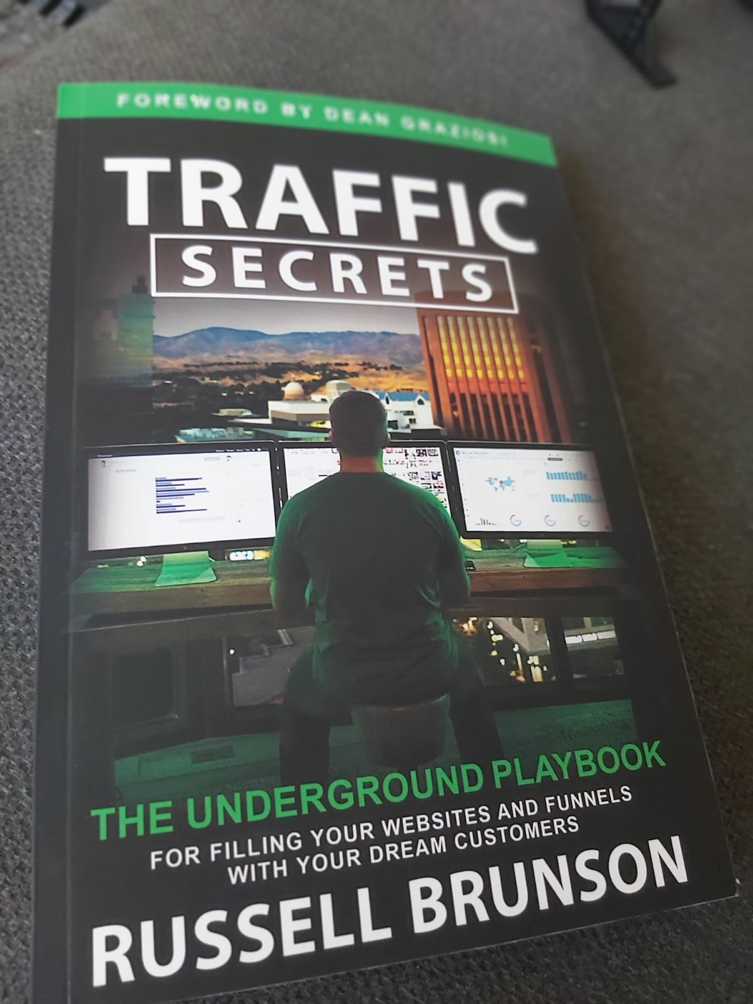 traffic secrets underground russell cover