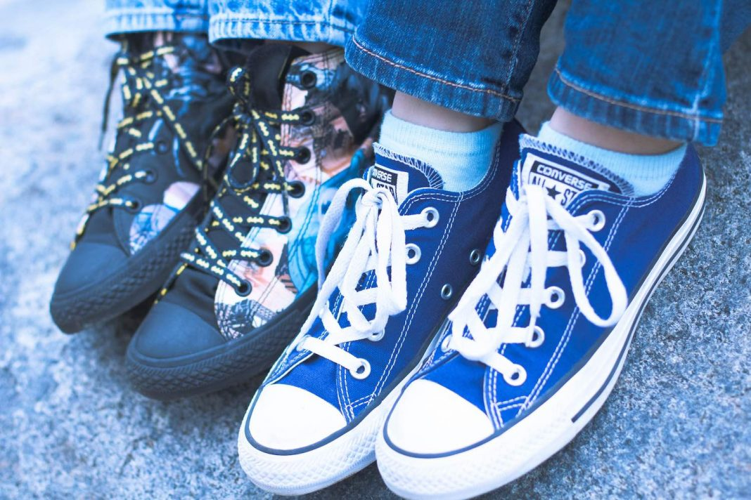 Playful Sneakers Trends for Kids