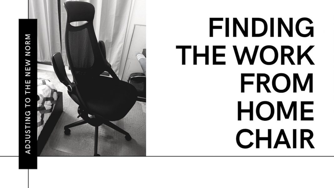 the work from home chair