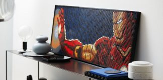 Display Your Taste With LEGO Art