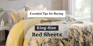 Essential Tips for Buying Quality King Size Bed Sheets