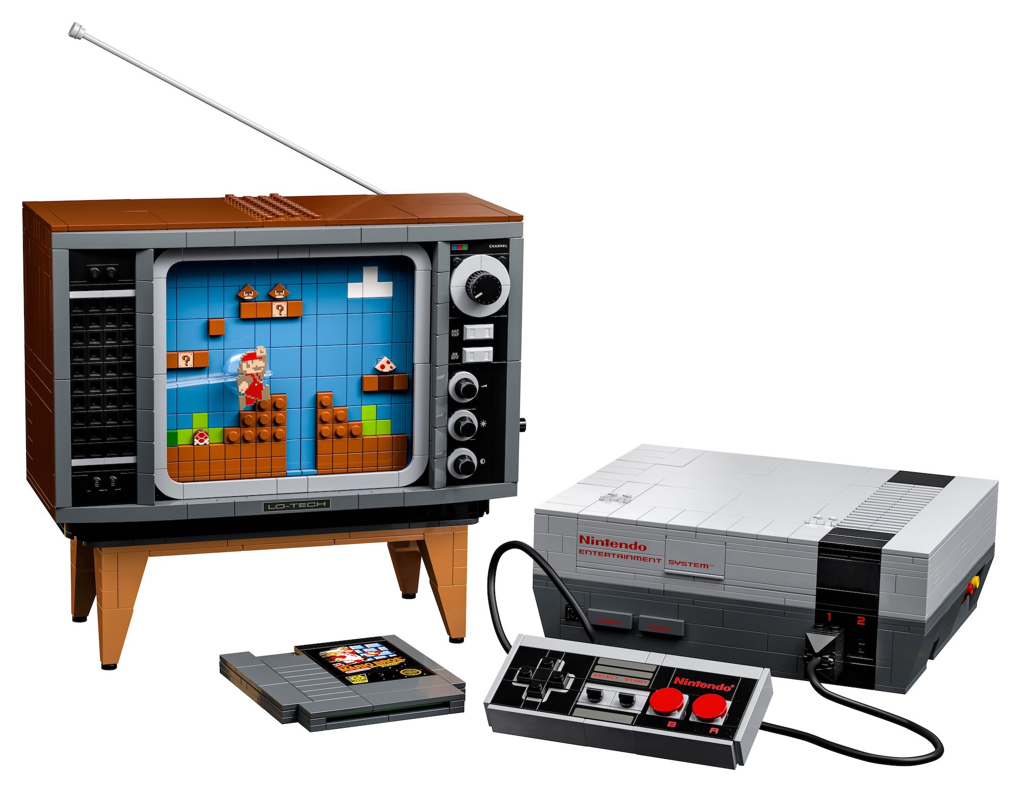 Exclusive LEGO® Nintendo Entertainment System