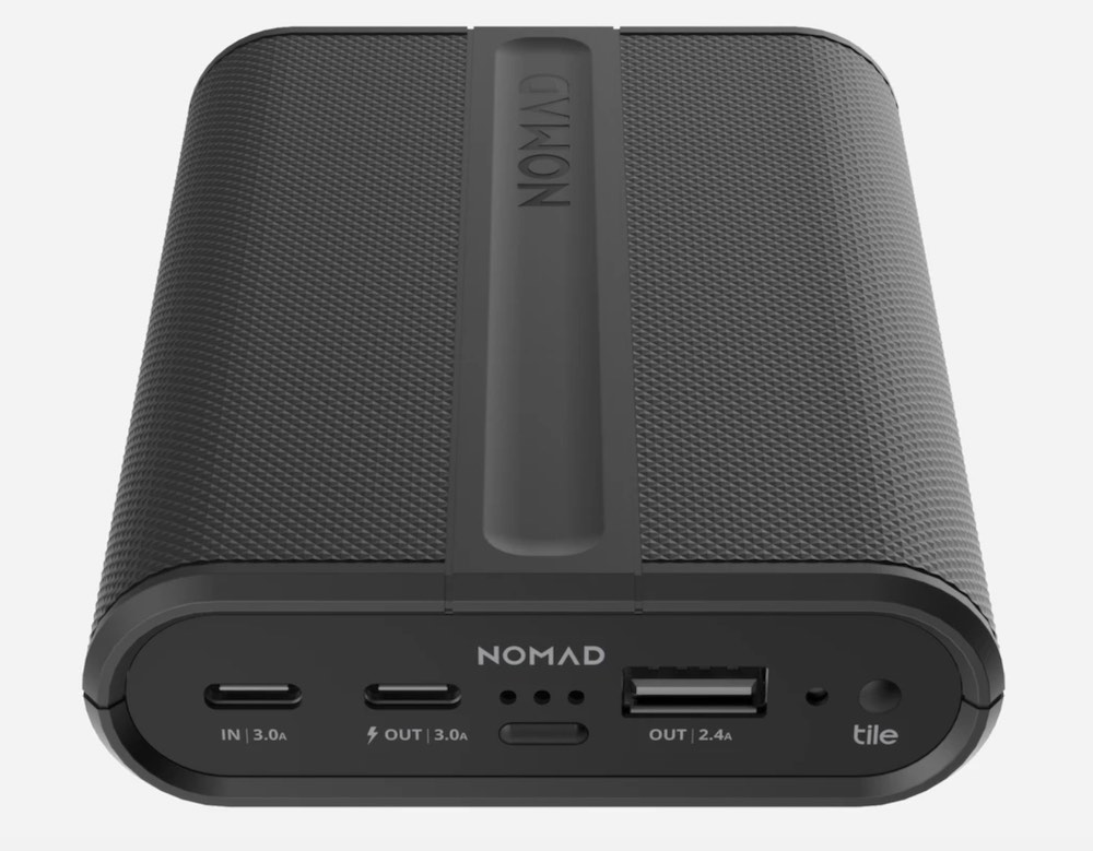 Nomad PowerPack Battery with Tile