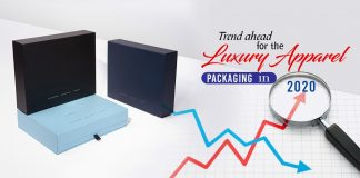 Trend Ahead for the luxury apparel packaging in 2020