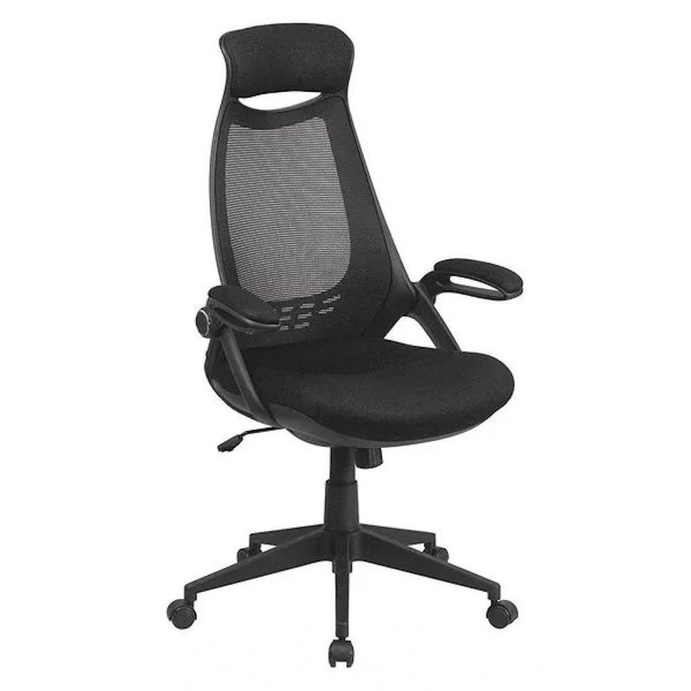 Zoro High Back Exec Mesh Chair, Black
