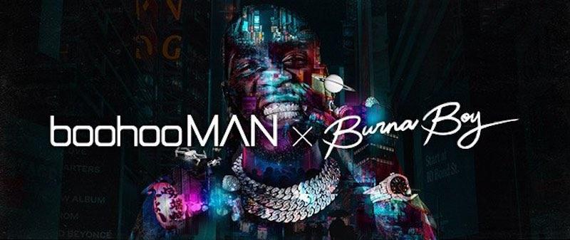 boohooMAN x Burna Boy