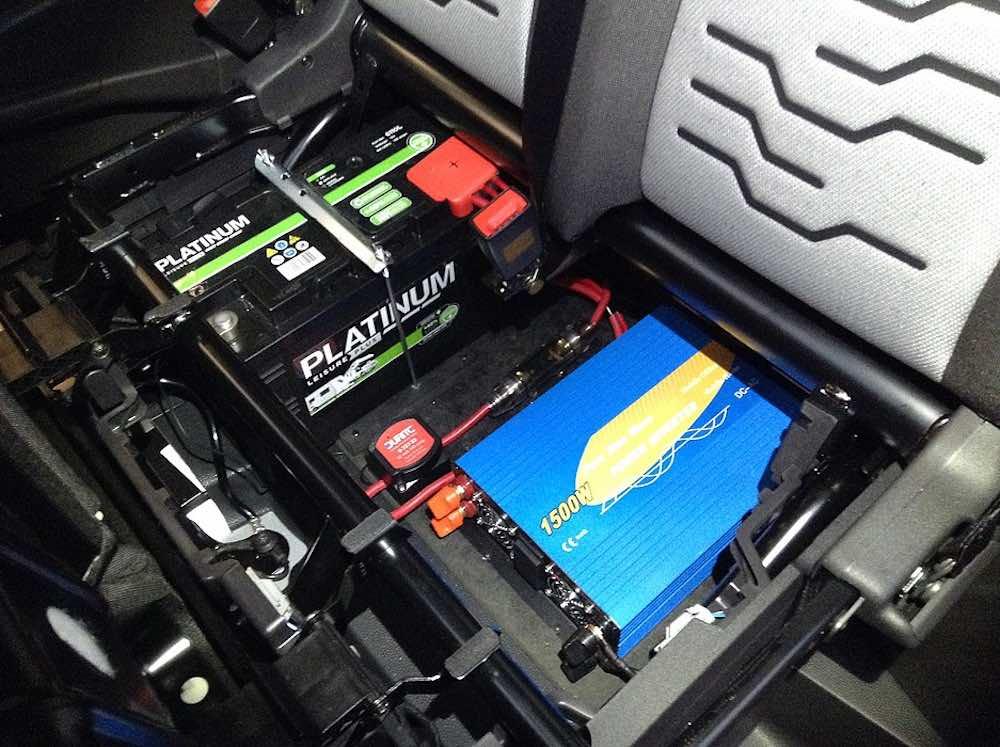 onduleur de batterie