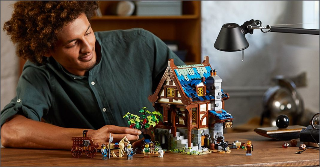 Announcing the new exclusive - LEGO® Ideas Medieval Blacksmith set!
