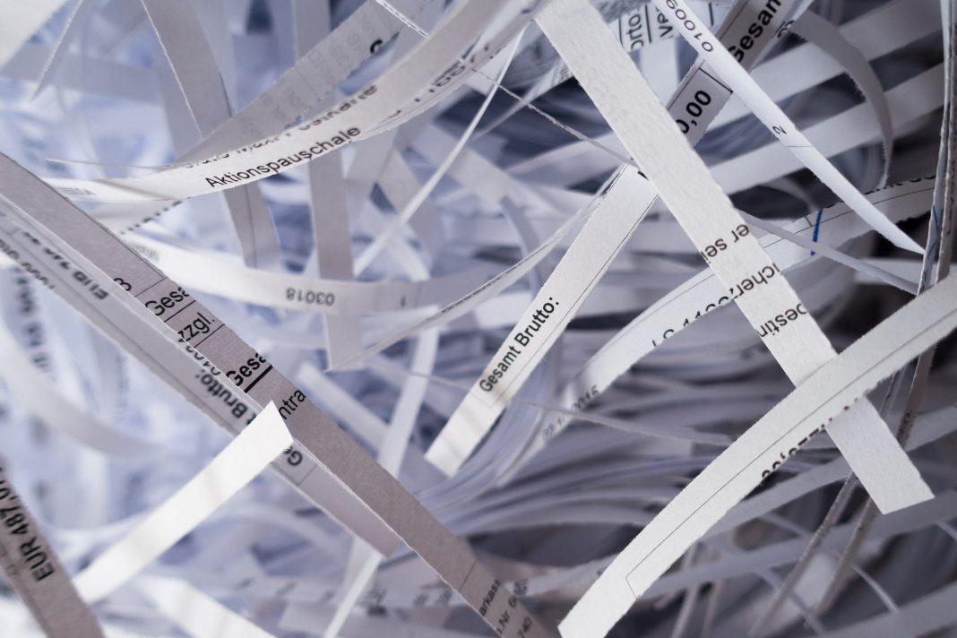 shredder paper