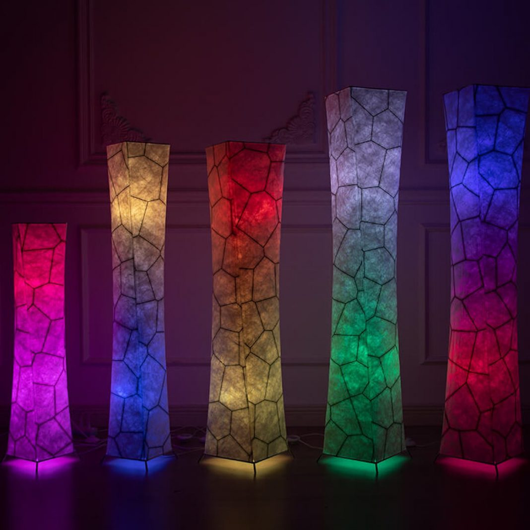 Color Changing Floor Lamp