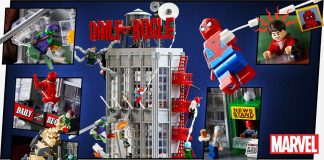 ANNOUNCING: EXCLUSIVE LEGO® SPIDERMAN DAILY BUGLE!