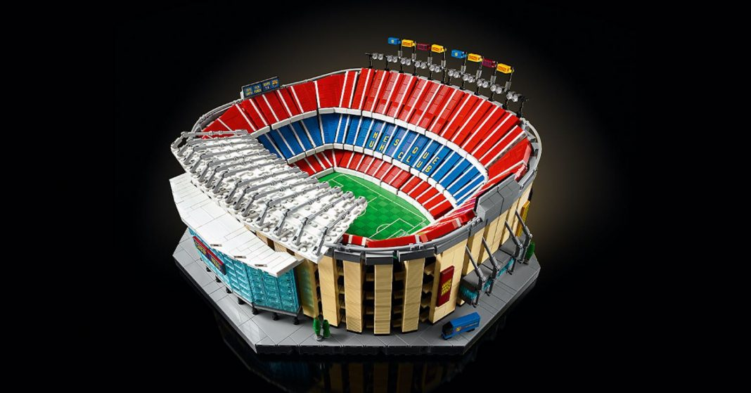 FC Barcelona's Camp NOU Exclusive Launched On Lego.com