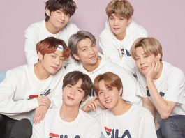FILA x Boygroup BTS: New Project 7 Collection