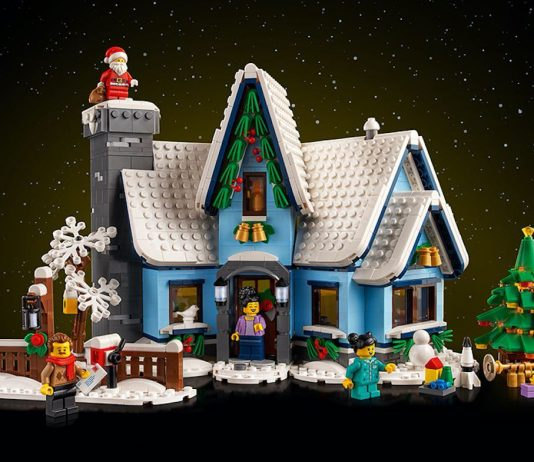 Lego.com Exclusive Santa's Visit